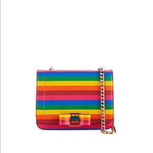 Salvatore Ferragamo Vara Rainbow Crossbody Bag